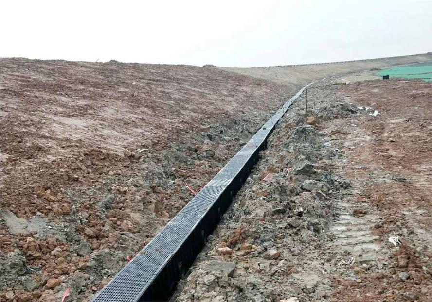 HDPE排水沟施工案例