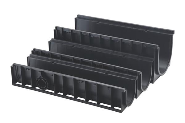 U型排水沟配套多种款式不锈钢盖板的应用